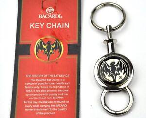 Cooler-Bacardi-Rum-Fledermaus-USA-Schlusselanhanger-Bat-Keychain-Key-Chain