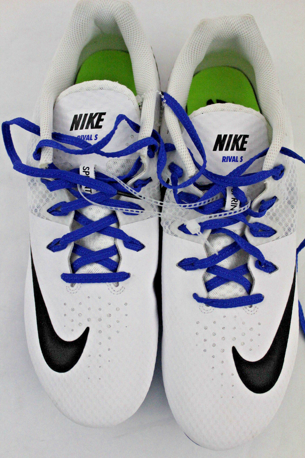 Nike Zoom Rival S8 Men's Sz 13 Track & Field Sprint Spikes Style 806554-100