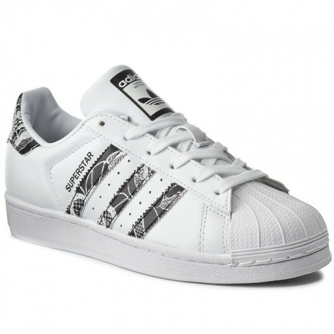 adidas Originals Superstar6 EU 39 1/3 blanc  & Core Noir Trainers BB0531