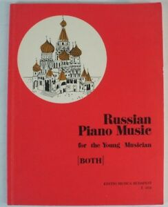 Russian-Piano-Musik-for-young-Musician-BOTH-Editio-Musica-Budapest-Noten-B7605