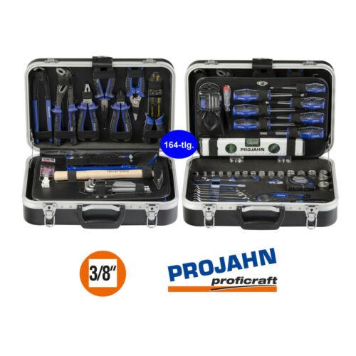 164 pièces 3//8 pouces Projahn Boîte à outils-Set compact