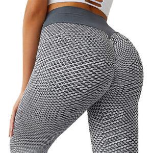 Women's PUSH UP Yoga Leggings Booty Pants Fitness High Waist Sport Gym Workout