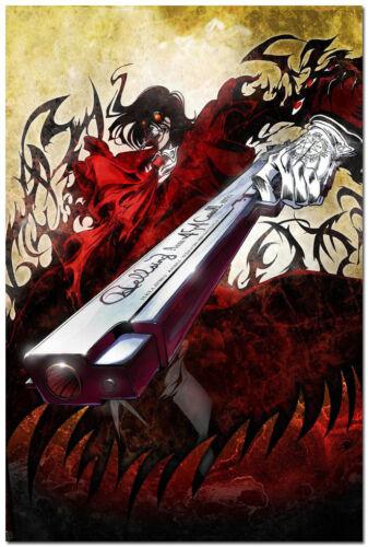 HELLSING Vampire Fighting Art Silk Wall Poster 13x20 24x36 inch 001