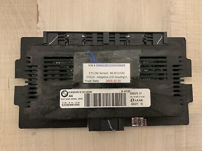 BMW FRM3R E70 VDM X5 e70 X6 e71 LED LIGHTS MODULE Footwell module 9308375