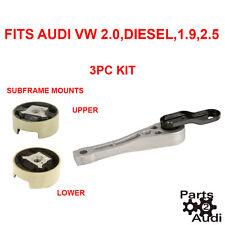 Engine Mount Rear w Subframe Mounts For Audi A3 VW Beetle Golf 2.0,Diesel,2.5