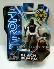 TRON LEGACY Series 2 Action Figure Disney 2010 /'Lights Up/' BLACK GUARD