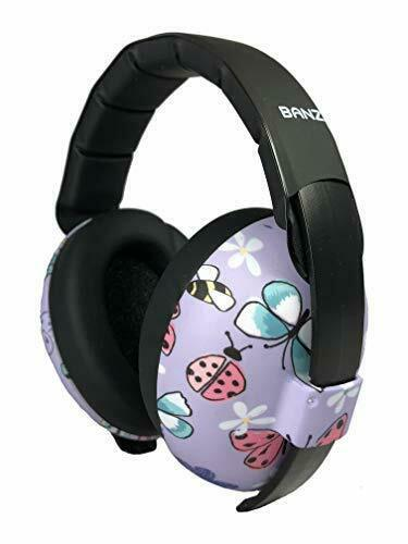 Baby Banz Earmuffs Infant Baby Ear Hearing Protection Soft /& Comfortable NEW