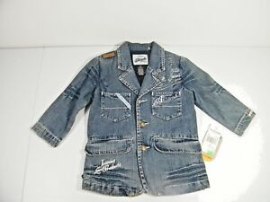 ecfb32ae5f89 Akademiks Toddler Button Down 3T Jean Jacket