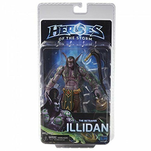 Heroes of The Storm Series 1 Illidan Stormrage World of Warcraft Neca