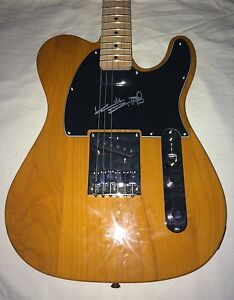 Keith Richards Signed Guitar The Rolling Stones Fender