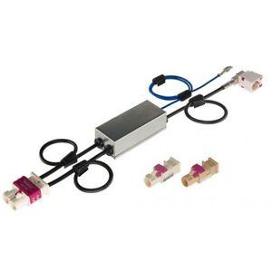 ZENEC-ZE-NC-ANT-E-gt-GO-2-Kanal-Diversity-Antennenadapter-kompatibel-mit-Volkswagen