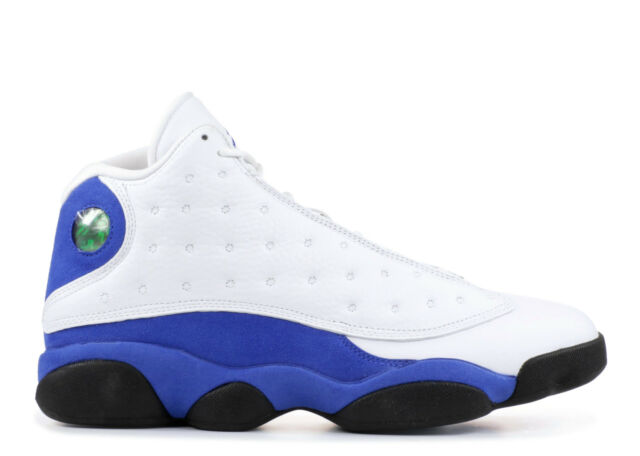 big sale 85cb5 0a2f0 Nike Air Jordan Retro 13 XIII 2018 HYPER Royal Blue White Sz 9.5 100  Authentic