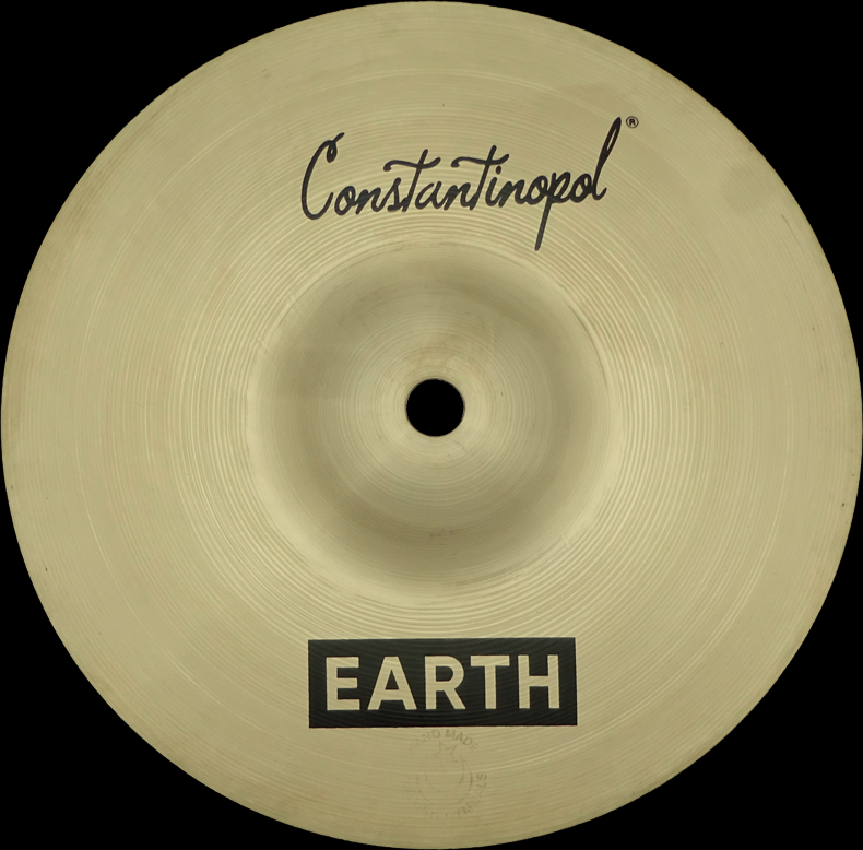 Constantinopol EARTH SPLASH 8  - B20 Bronze - Handmade Turkish Cymbals