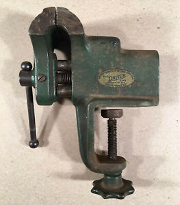 WALKER-TURNER-Co-THE-DRIVER-LINE-2-1-2-034-Jewelers-Gunsmith-Vise-Table-Clamp