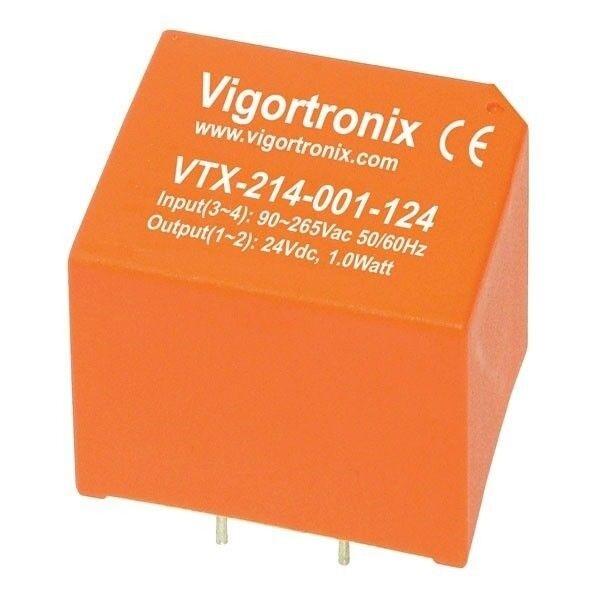 Vigortronix VTX-214-001-105 1 W AC-DC Power Supply Supply Power simple sortie 5 V 269f61