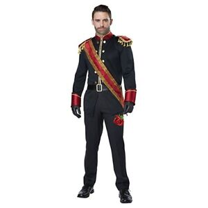 Image is loading California-Costume-Dark-Prince-Royal-Kingdom-Adult-Mens-  sc 1 st  eBay & California Costume Dark Prince Royal Kingdom Adult Mens Halloween ...