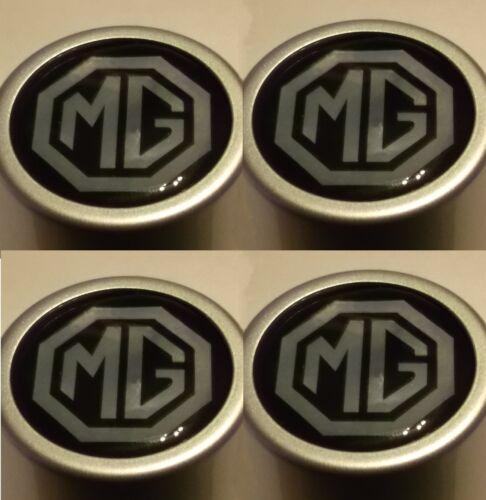 4 X mgwheel Centre Logos 40 mm dia Pour MGB GT /& Roadster 1962-80