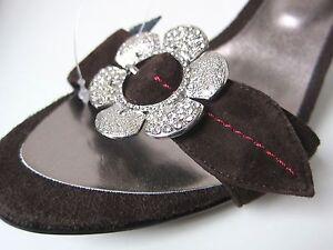 Pumps Mocca Mule Brun chaussures chaussures marron Gr Pure Glamour Chocolat Unikat 38 RIqUtxFwR