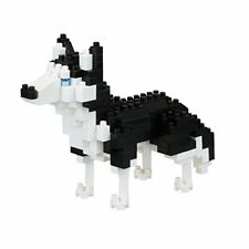 NEW NANOBLOCK Siberian Husky Dog Nano Block Micro-Sized Building Blocks NBC-264