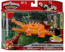 POWER RANGERS DINO SUPER CHARGE DEINOSUCHUS ZORD ACTION FIGURE WITH CHARGER
