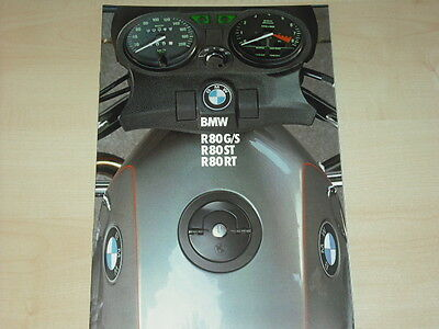 Genial 62742 Bmw R 80 Gs St Rt Prospekt 01/1983 Auto & Motorrad: Teile
