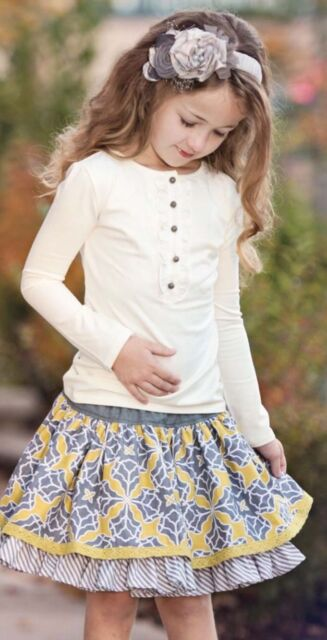 New Persnickety Girls Skirt Size 2y Girls' Clothing (newborn-5t) Baby & Toddler Clothing
