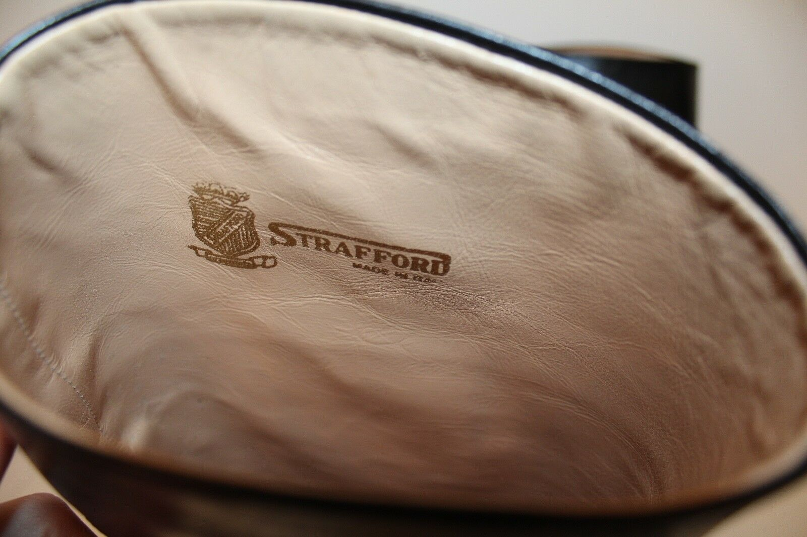 STAFFORD ECHT LEDER STIEFEL Leder 37 37.5 schwarz Reitstiefel Leder STIEFEL RIDING Stiefel UK4 692380