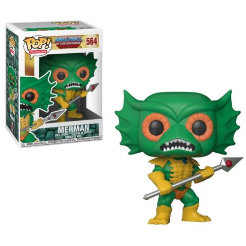 Funko POP ! Vinyl Merman 564 MOTU   Masters of The Universe - NEW!