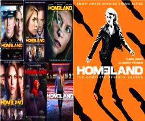 Homeland The Complete Series Seasons 1-7 (DVD, 28-Disc) US Seller Free Ship New!