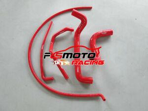 RED-For-HOLDEN-COMMODORE-VZ-STATESMAN-V8-5-7L-Radiator-Silicone-Hose-Kit