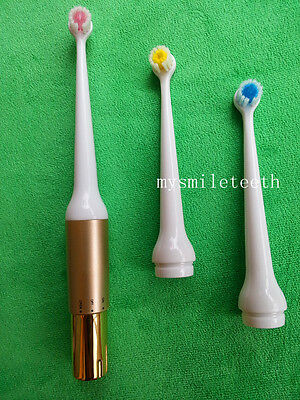New Oral Battery Operated Electric Toothbrushes + 3 Brush Heads Teeth Cleaning
