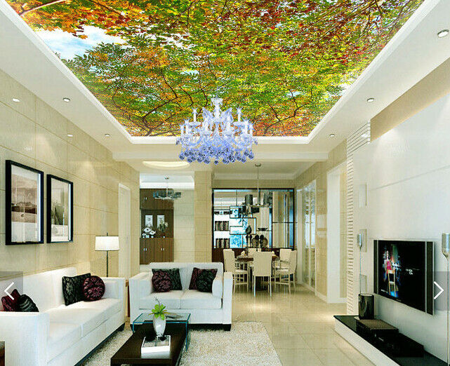 3D Tree 523 Ceiling WallPaper Murals Wall Print Decal Deco AJ WALLPAPER AU