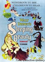 Vintage Disney Sleeping Beauty Movie Poster - Available In 5 Sizes