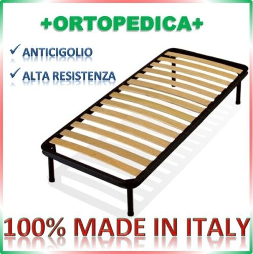 Orthopedic network with 13 slats 80x200 Height Pins Choice