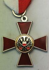 Croix du mérite de guerre allemande de Lubeck 1914 - REPRO de qualité
