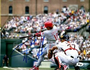 Darren-Daulton-Autographed-Signed-8x10-Photo-MLB-Philadelphia-Phillies