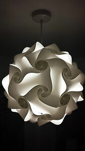 lamp shades light shades lampshade retro pendant 25cm small various colours uk