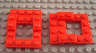 New LEGO Lot of 2 Black 1x10 Flat Plate Pieces from 79108 7591 7597