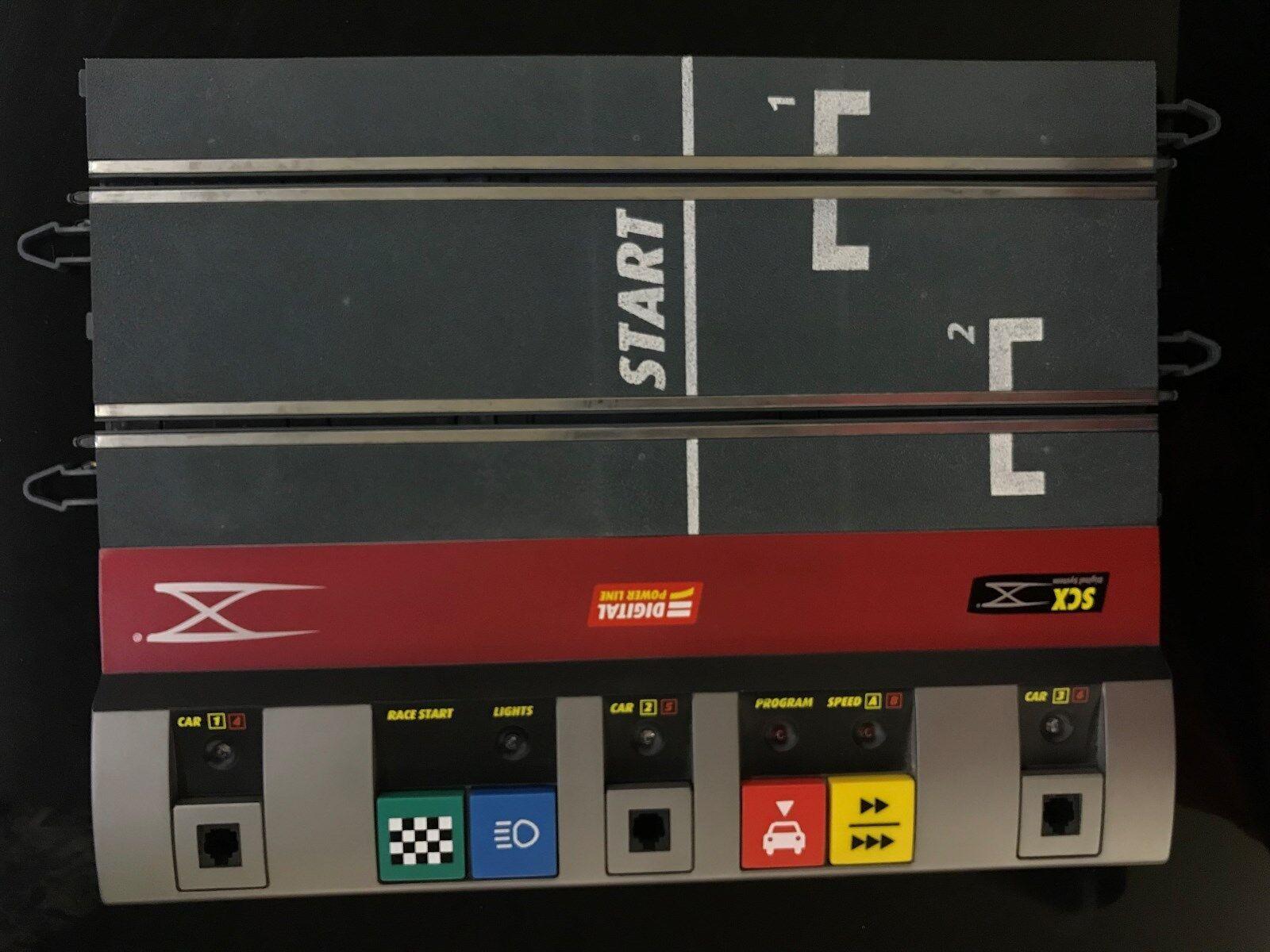 Scx Digital-Lote con pistas y accesorios