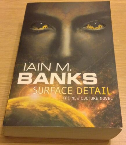 1 of 1 - SURFACE DETAIL Iain M Banks Book (Paperback)