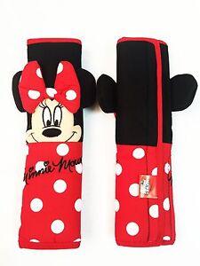 Amazing Details About Minnie Mouse Disney Car Accessory Red 2 Pieces Seat Belt Shoulder Pads Covers Spiritservingveterans Wood Chair Design Ideas Spiritservingveteransorg
