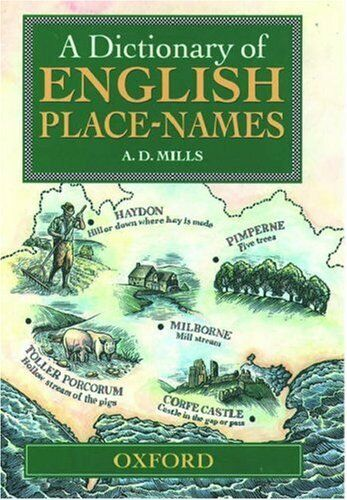 1 of 1 - A Dictionary of English Place-names,A.D. Mills