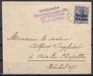 B2562-BELGIUM-GERMAN-OCC-MI-4-ON-COVER