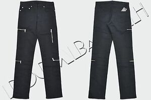 DIOR-HOMME-1000-Authentic-New-Skinny-Blue-Cotton-Blend-Zip-Pockets-Jeans-sz-29