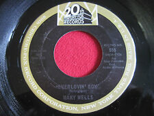 SOUL 45 - MARY WELLS - EVERLOVIN' BOY / USE YOUR HEAD - 20TH CENTURY FOX 555