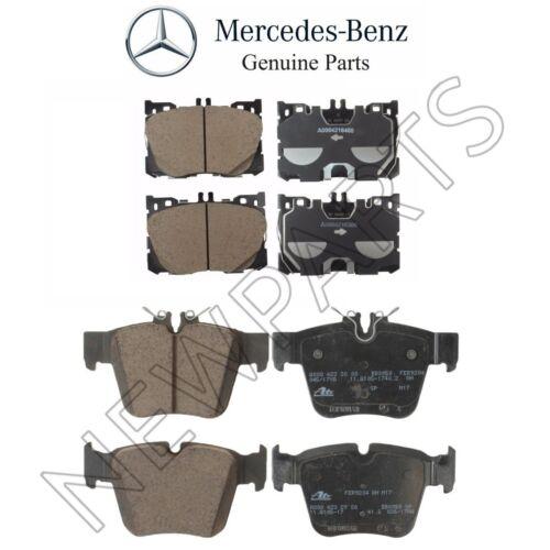 For Mercedes W253 GLC300 Set of Front /& Rear Brake Pad Set Genuine