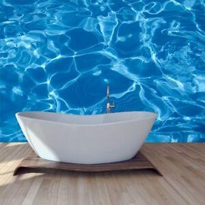 Blaues Meer Fototapete Wasser Hintergrund Tapete Badezimmer Haus Dekor Ebay