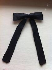 Kentucky Gambler Western Cowboy Sheriff Black Bow Tie Mens Fancy Dress Accessory