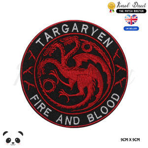 Targaryen-Game-of-Thrones-Embroidered-Iron-On-Sew-On-Patch-Badge