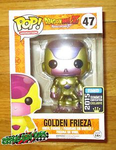 Sdcc 2015 Funko Pop Dragon Ball Z Golden Frieza Vinyl Figure Black